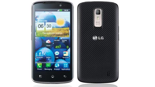 LG Optimus True HD specs rating: 54.2