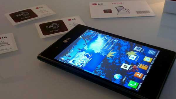 LG Optimus Vu specs rating: 60.1