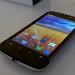 ZTE Blade 3 hands on video