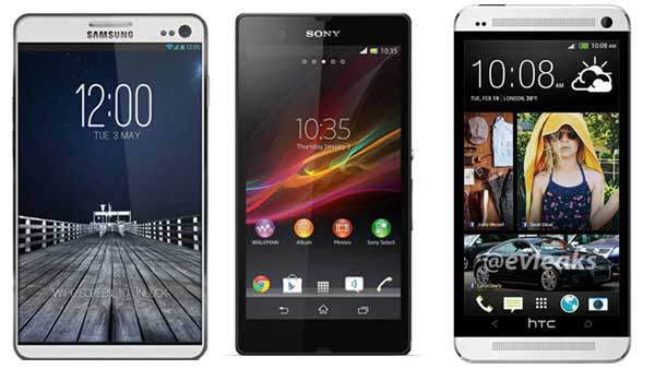 The best Android smartphones 2014 comparison chart