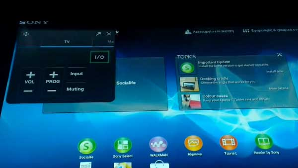 Use your tablet as a remote control for your TV
