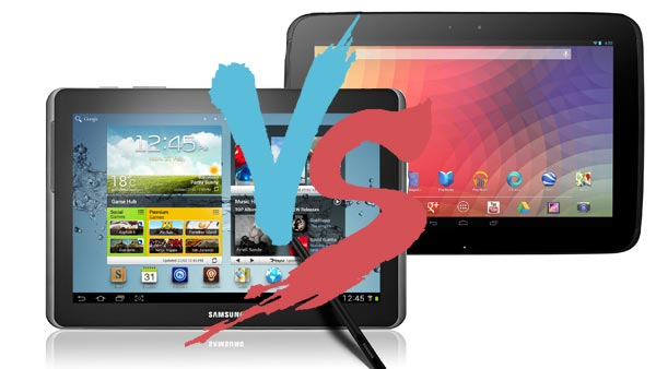 Which 10 inch Android tablet to buy? Samsung Galaxy Note 10 VS Google Nexus 10