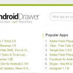 Find older versions of Android apps at Android Drawer