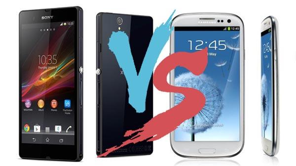 Sony Xperia Z VS Samsung Galaxy S3: Which one to buy?