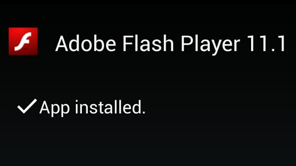 Install Flash player even if it not officially supported