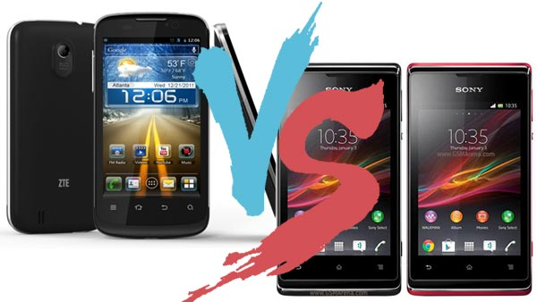 any you zte blade 3 vs sony xperia e charging