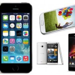 iPhone 5S compared to Android devices