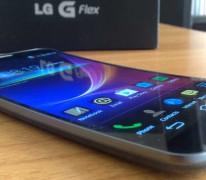 LG G Flex specs rating review: 60.9