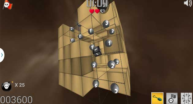 Twistor takes Minesweeper to a brand-new dimension (3D)