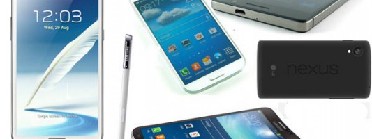 The best Android smartphones – November 2013