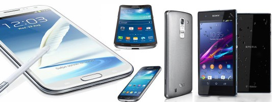 The best Android phablets – June. 2014 – comparing 34 devices