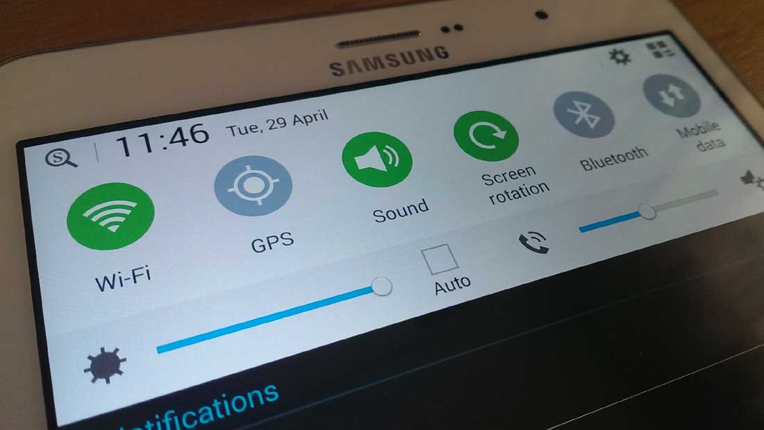 Edit the notifications bar with Samsung TouchWiz