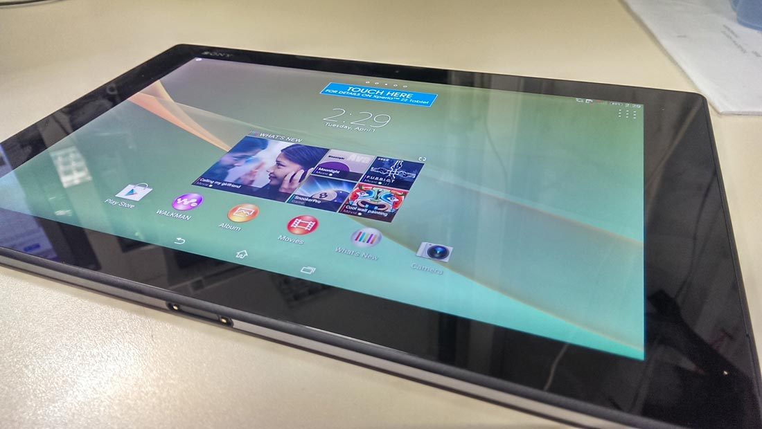 Sony tablet z2 recovery