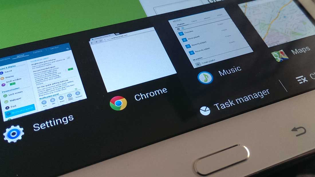 Use the Task Manager for Multitasking with Samsung TouchWiz