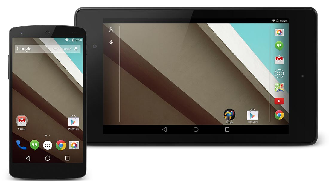 What changed in Android L compared to Android 4.4