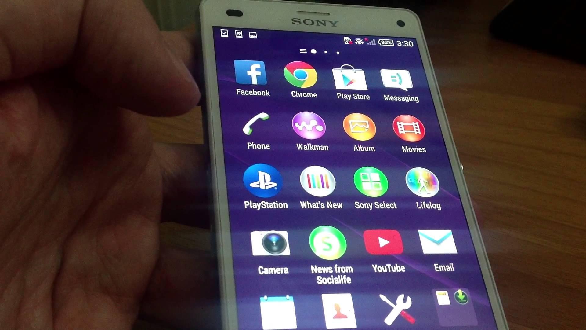 Sony xperia z3 программы скачать